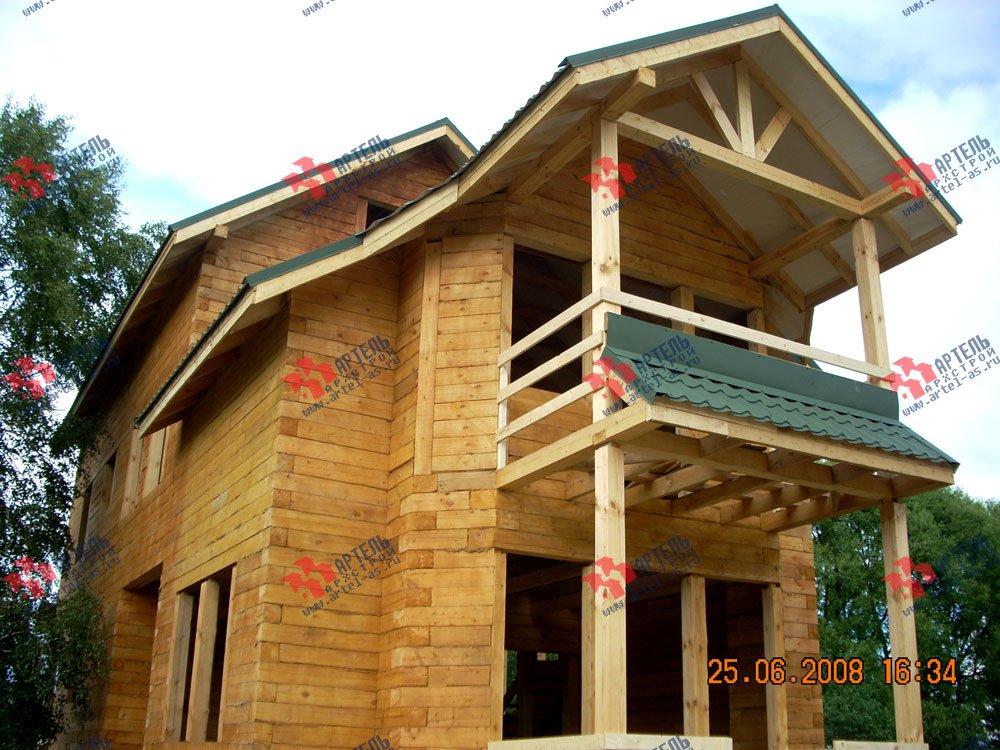 дом из бруса построенный по проекту Вариант 6.3 Н фотография 2306