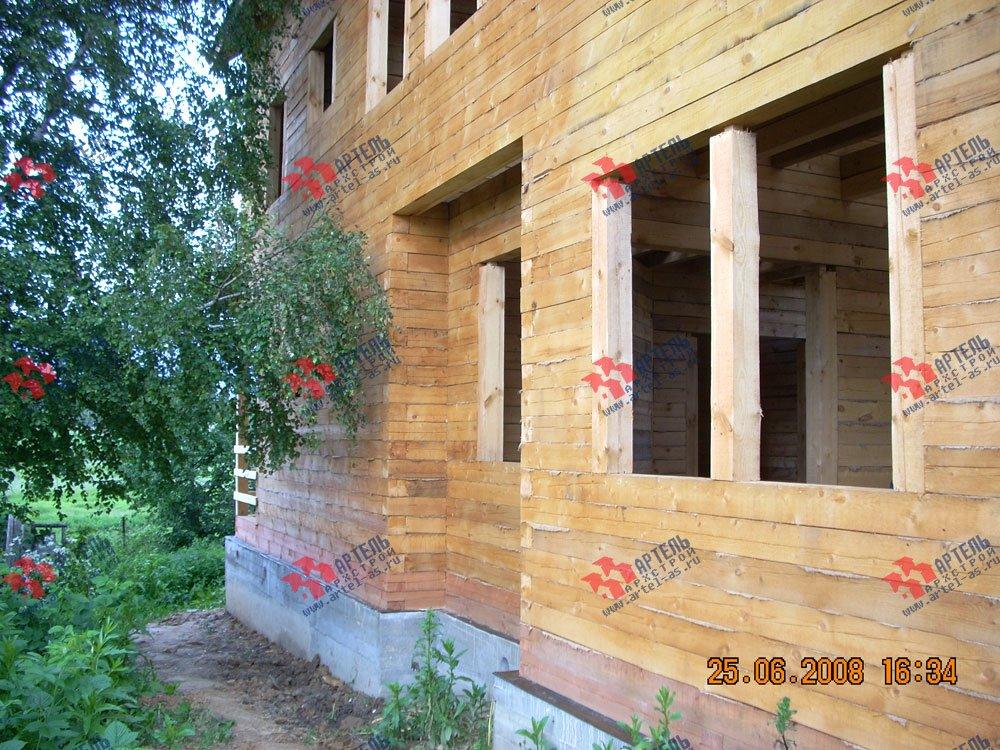 дом из бруса построенный по проекту Вариант 6.3 Н фотография 2308