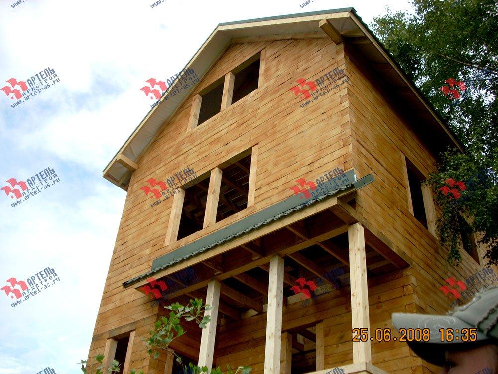 дом из бруса построенный по проекту Вариант 6.3 Н фотография 2309