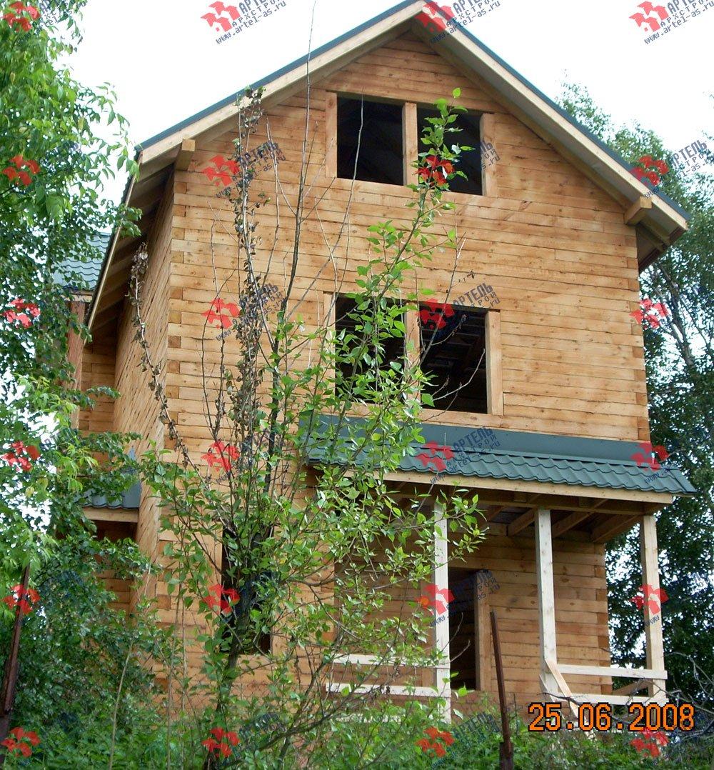 дом из бруса построенный по проекту Вариант 6.3 Н фотография 2313