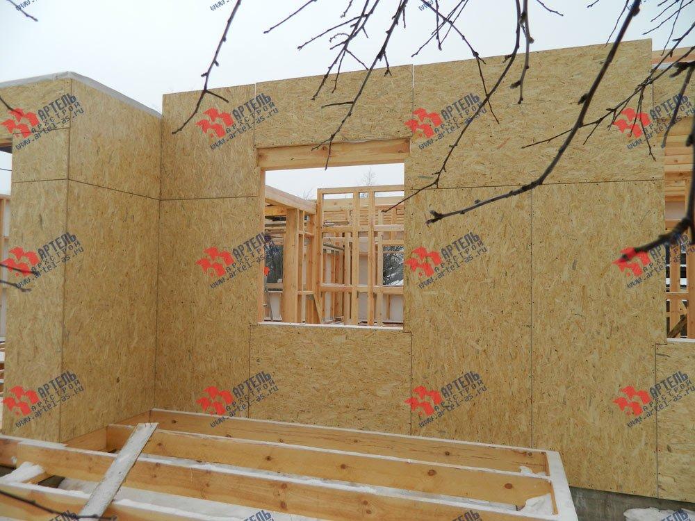 дом из профилированного бруса построенный по проекту Вариант 5 фотография 2922