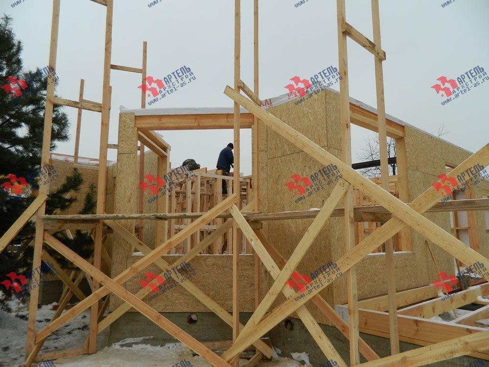 дом из профилированного бруса построенный по проекту Вариант 5 фотография 2959