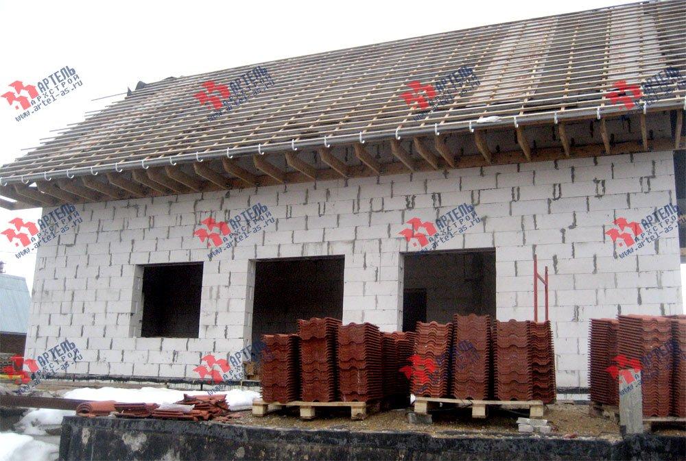 дом из камня построенный по проекту Вариант 22 фотография 2704