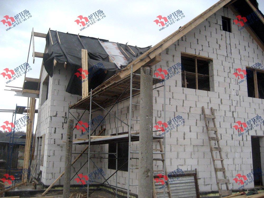 дом из камня построенный по проекту Вариант 22 фотография 2707