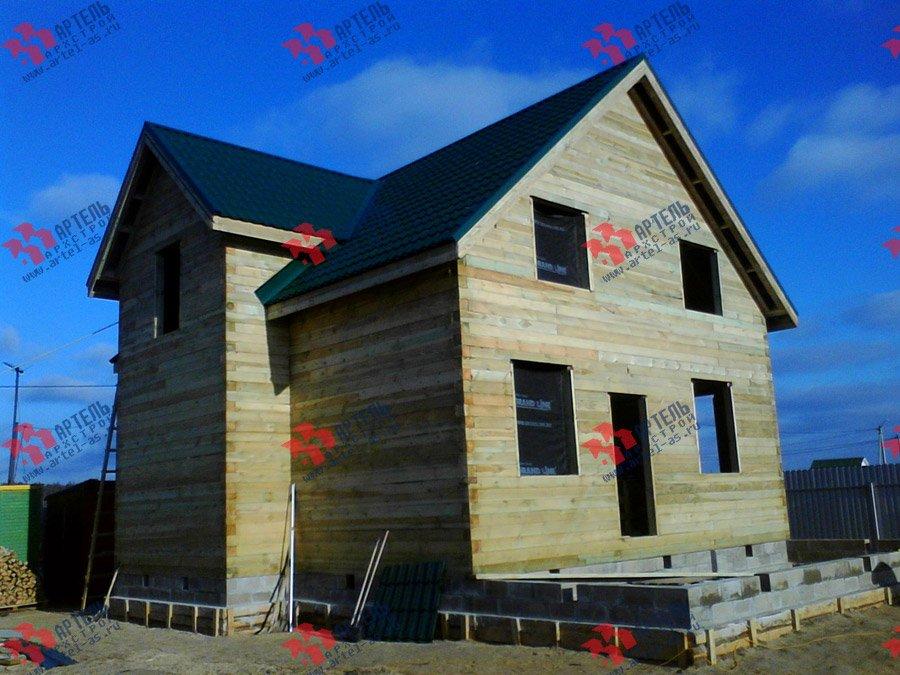 дом из бруса построенный по проекту Вариант 8 Е фотография 3557