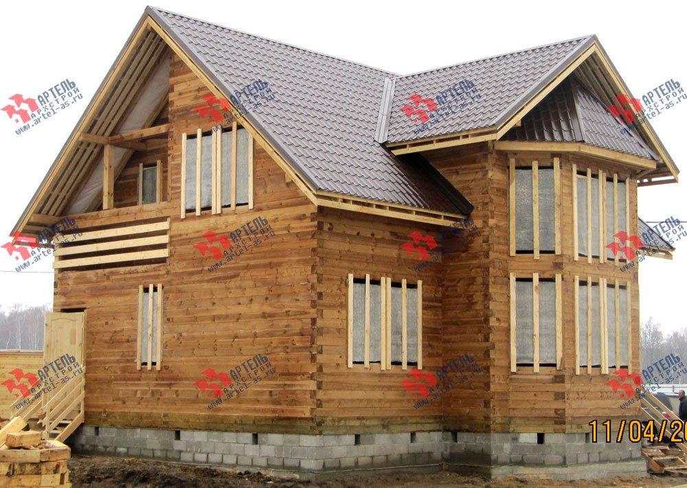дом из профилированного бруса построенный по проекту Вариант 11 И фотография 2426