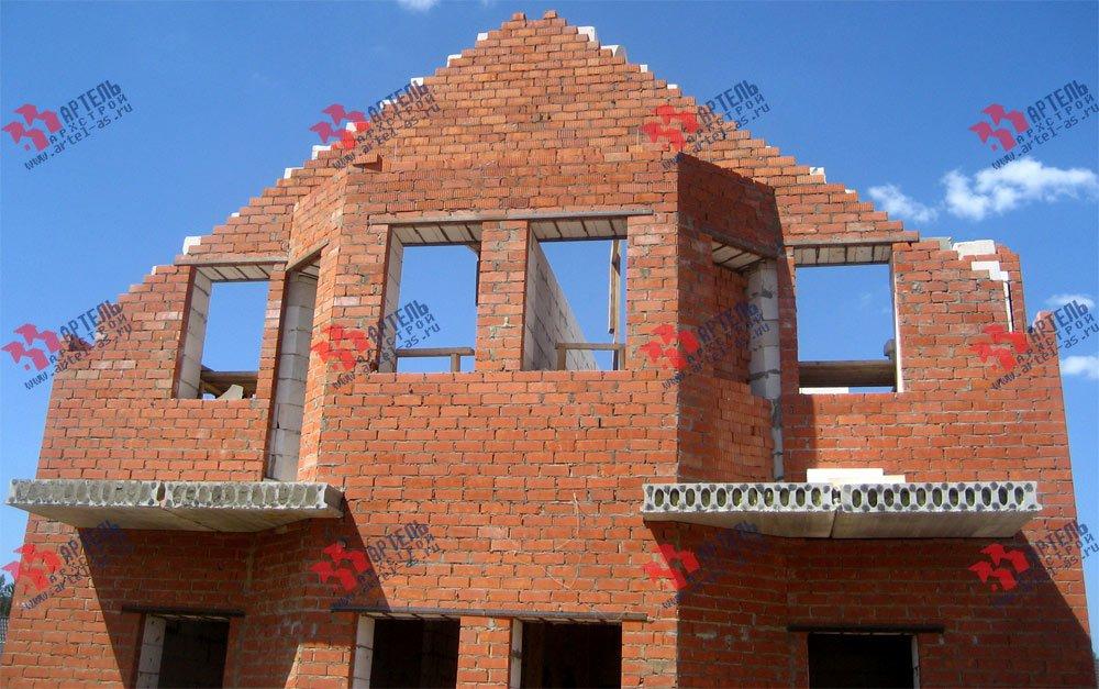 дом из камня построенный по проекту Вариант 23 фотография 2732