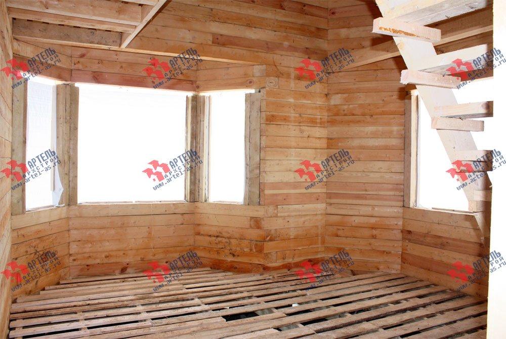 дом из бруса построенный по проекту Вариант 8.5 И фотография 2431
