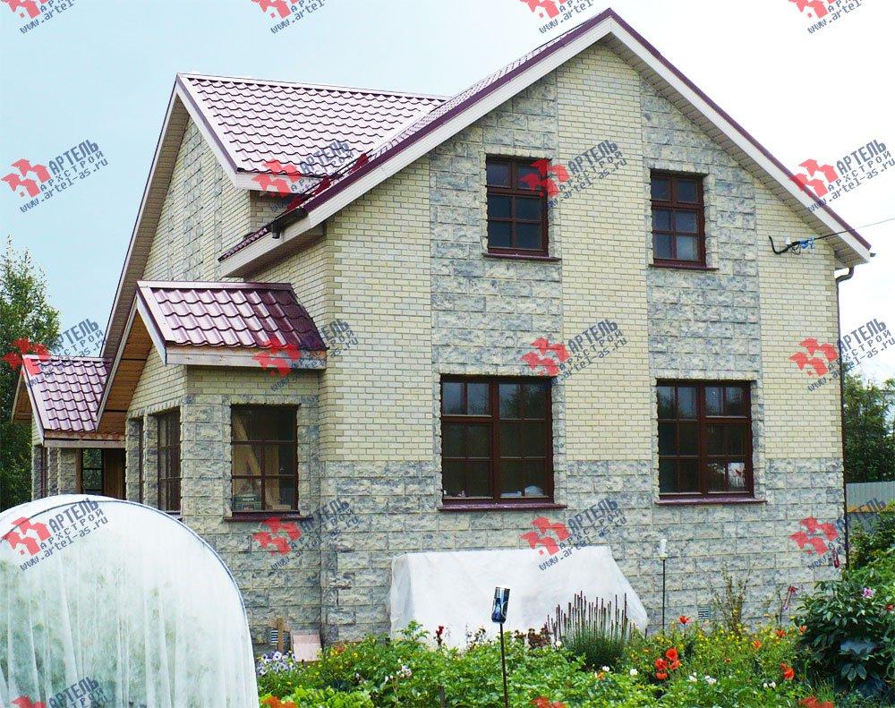 дом из профилированного бруса построенный по проекту Вариант 6.7 А фотография 1638