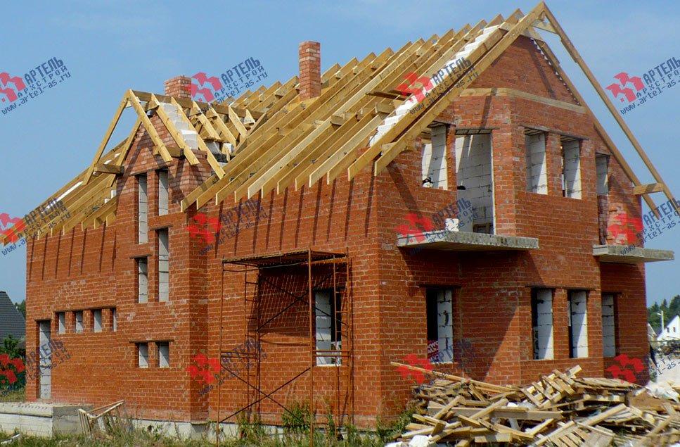 дом из камня построенный по проекту Вариант 23 фотография 2736