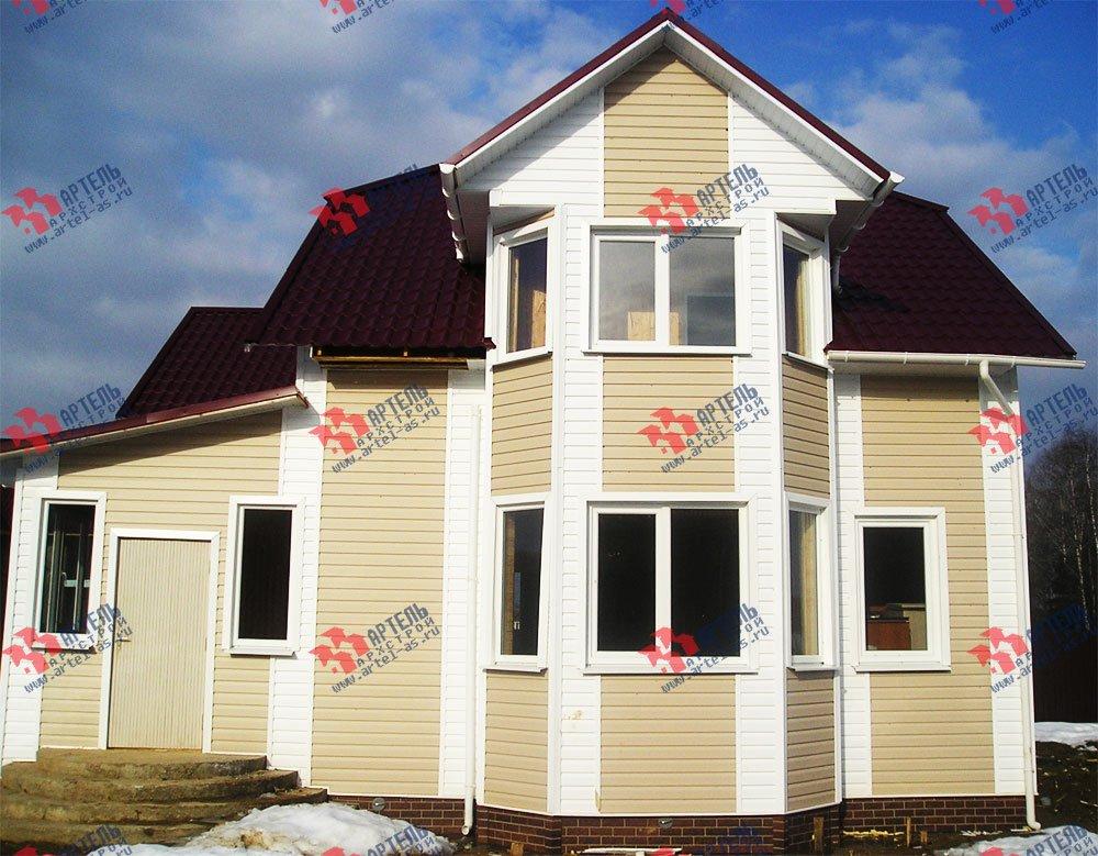 дом из бруса построенный по проекту Вариант 9 М фотография 1835