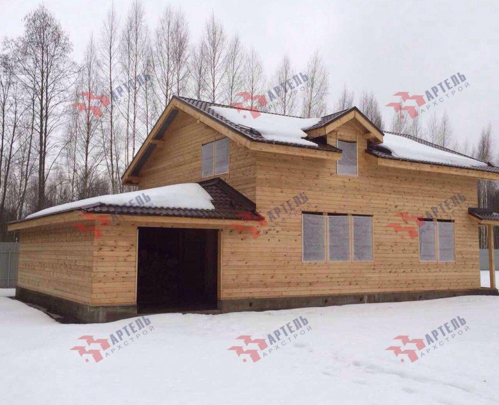 дом из камня построенный по проекту Вариант 26 фотография 5165