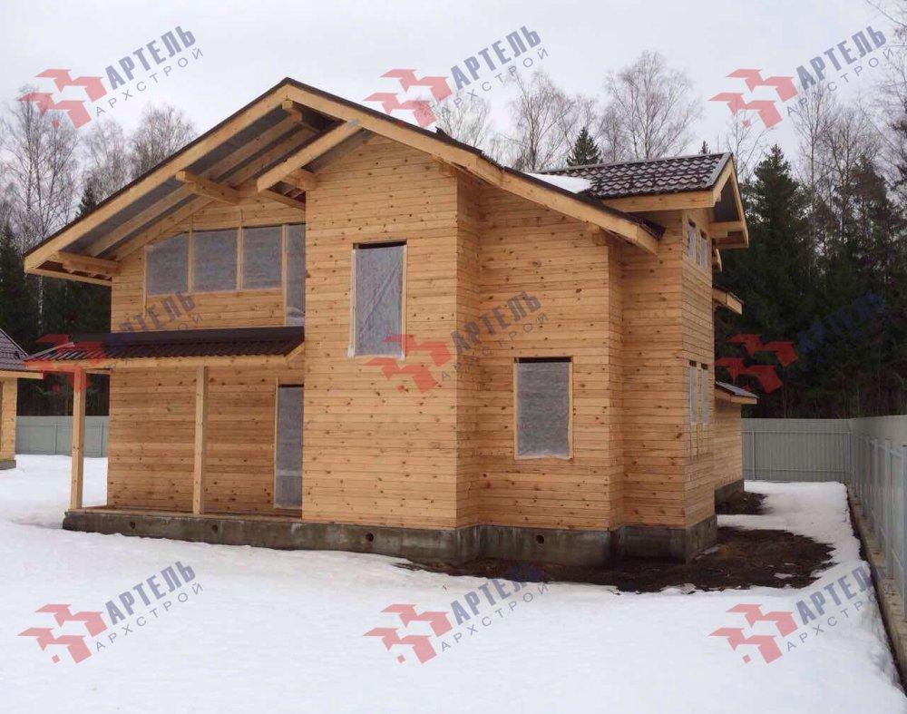 дом из камня построенный по проекту Вариант 26 фотография 5158
