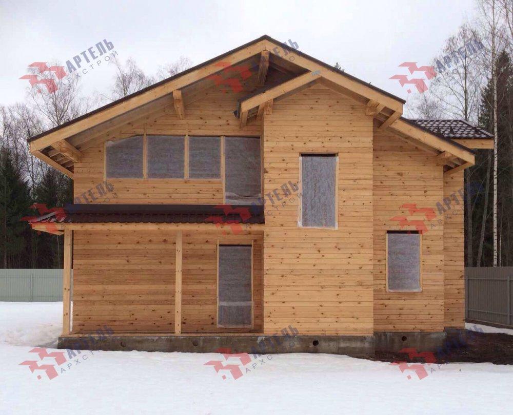 дом из камня построенный по проекту Вариант 26 фотография 5159