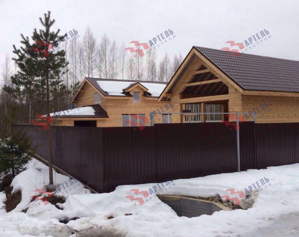 дом из камня построенный по проекту Вариант 26 фотография 5163