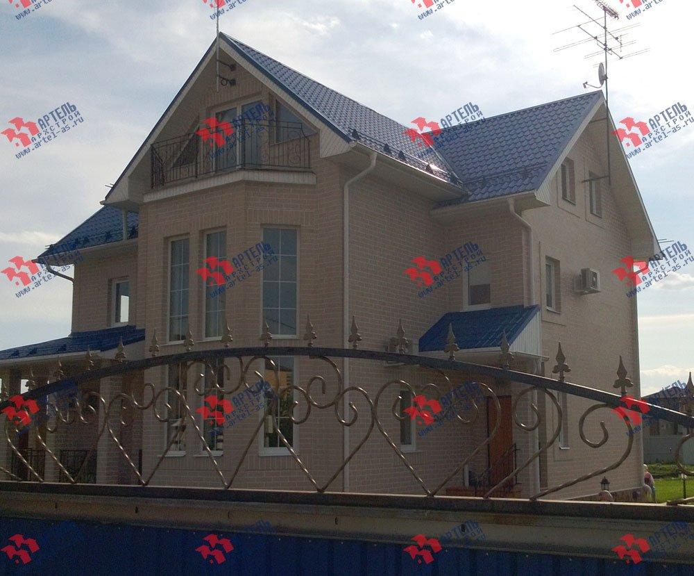 дом из бруса построенный по проекту Вариант 12.3 А фотография 3218
