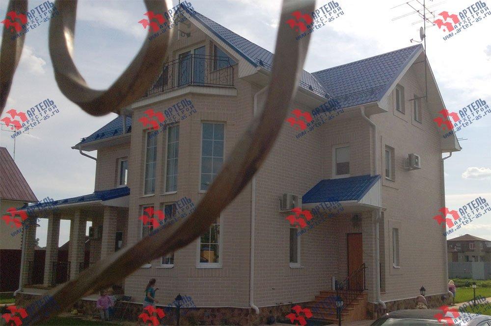дом из бруса построенный по проекту Вариант 12.3 А фотография 3219