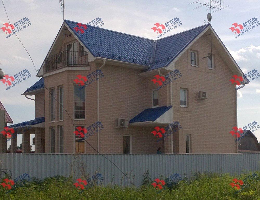 дом из бруса построенный по проекту Вариант 12.3 А фотография 3220