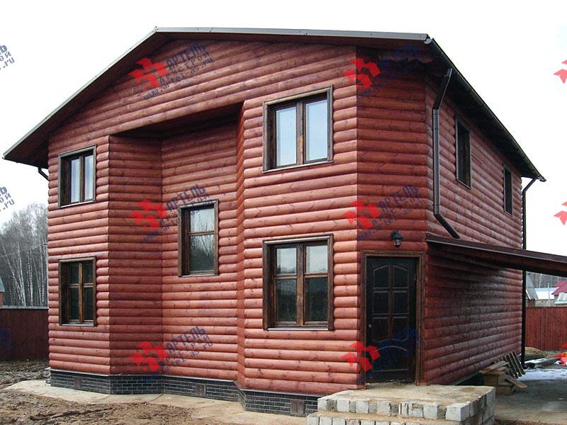 Отделка дома блок хаусом фото