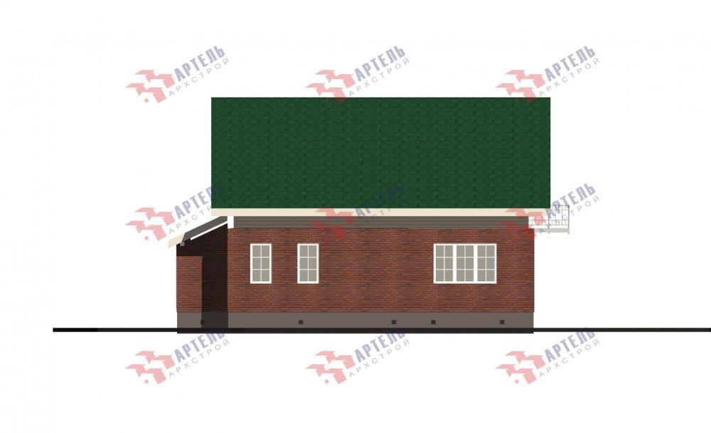 двухэтажный дом омбинированные дома площадью от 150 до 200 кв. м., проект Вариант 12.8В Комбинированный фотография 5323