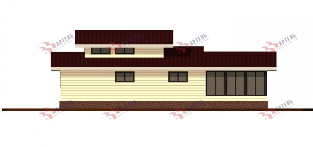 одноэтажный дом из профилированного бруса площадью свыше 200 кв. м., проект Вариант 12.4Л-Н фотография 5000