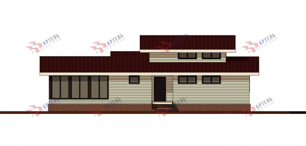 одноэтажный дом из профилированного бруса площадью свыше 200 кв. м., проект Вариант 12.4Л-Н фотография 5002
