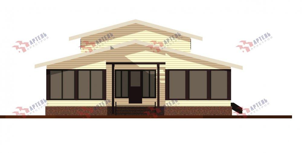 одноэтажный дом из профилированного бруса площадью свыше 200 кв. м., проект Вариант 12.4Л-Н фотография 5003