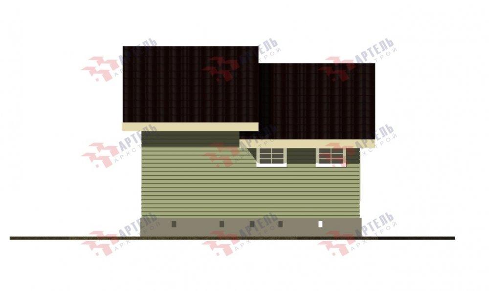 двухэтажный дом из бруса площадью от 100 до 150 кв. м. с  мансардой, проект Вариант 7М фотография 5110