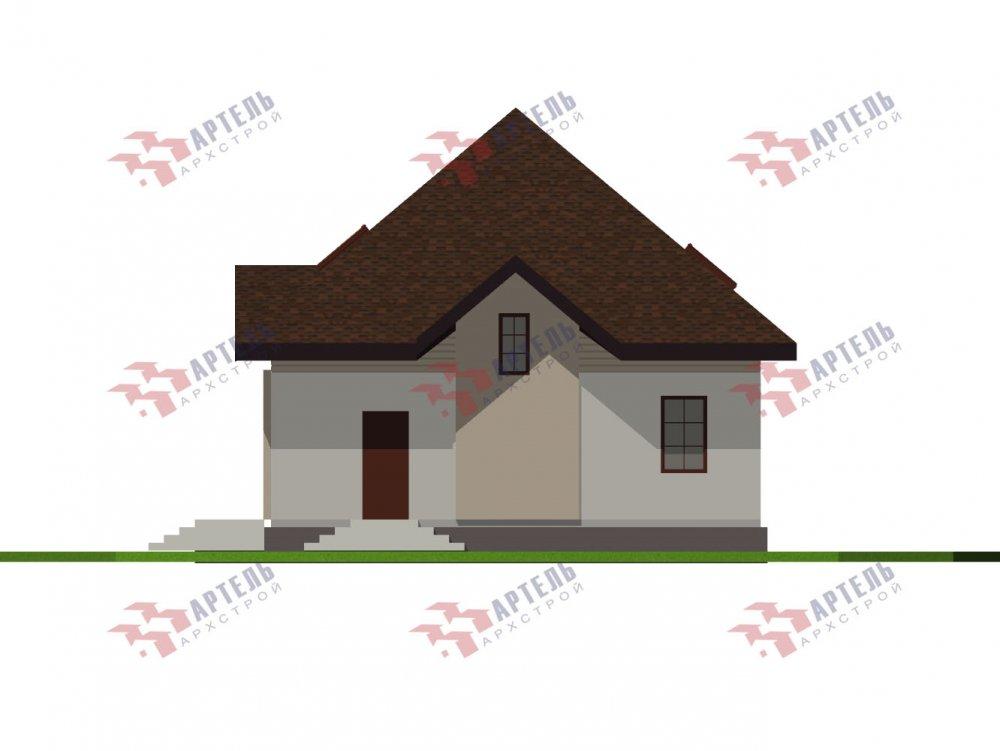 дом из камня, проект Вариант 10,5К Каменный фотография 5744