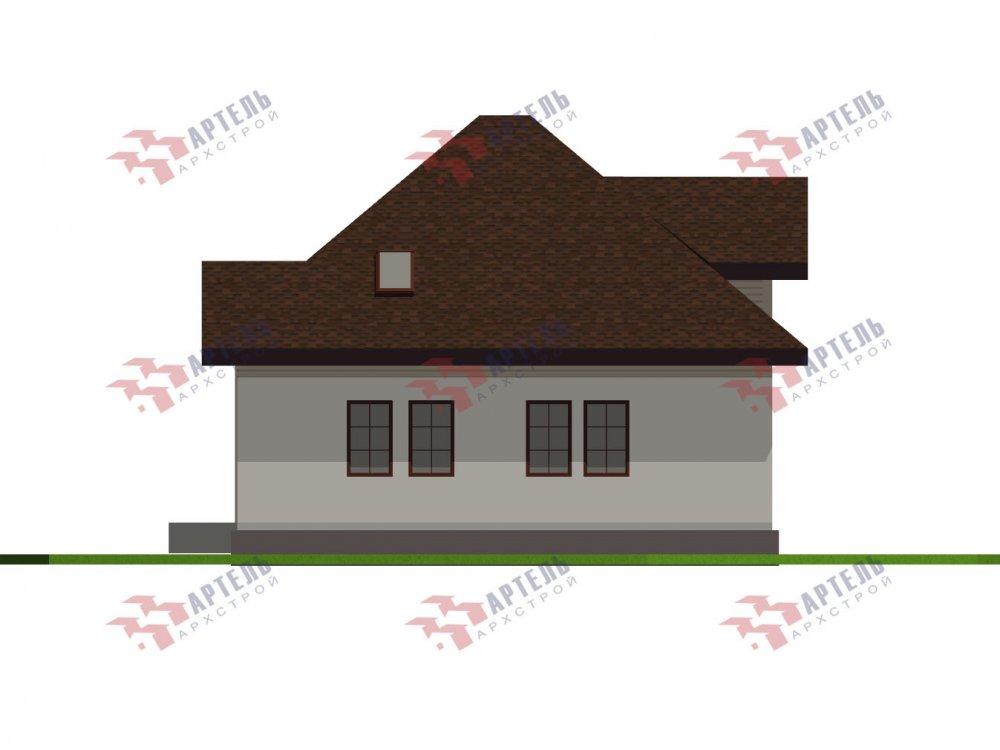 дом из камня, проект Вариант 10,5К Каменный фотография 5745