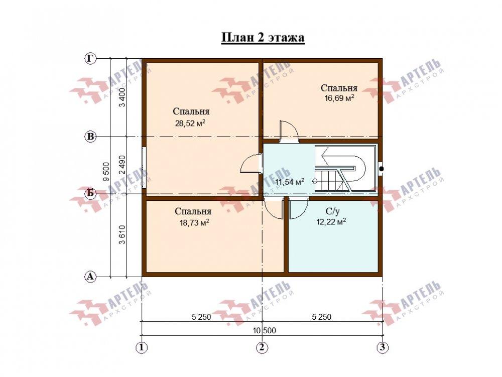 дом из профилированного бруса, проект Вариант 10,5К фотография 5750