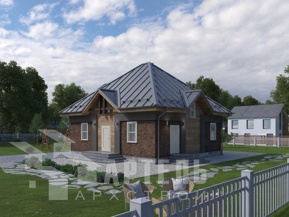 дом из профилированного бруса, проект Вариант 10,5К фотография 5732