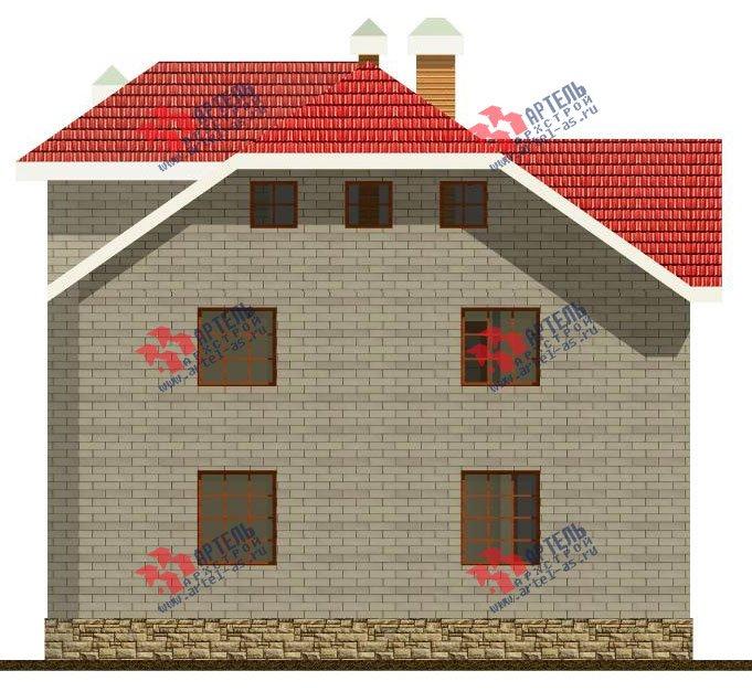 двухэтажный дом из камня площадью свыше 200 кв. м., проект Вариант 8 фотография 519