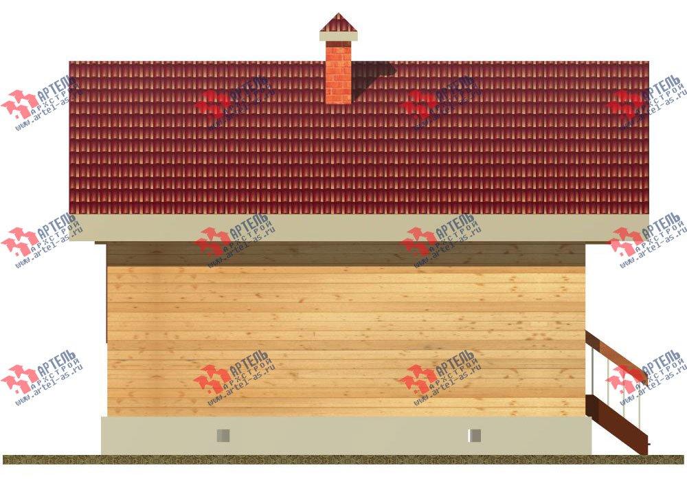 одноэтажный дом из профилированного бруса площадью до 100 кв. м., проект Вариант 1 фотография 1524