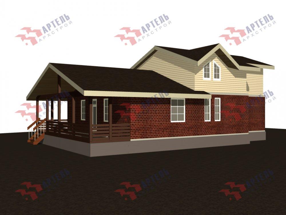 дом омбинированные дома, проект Вариант 15,9К Комбинированный фотография 5580
