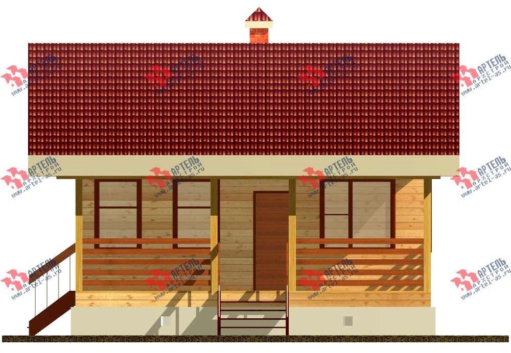 одноэтажный дом из профилированного бруса площадью до 100 кв. м., проект Вариант 1 фотография 1525