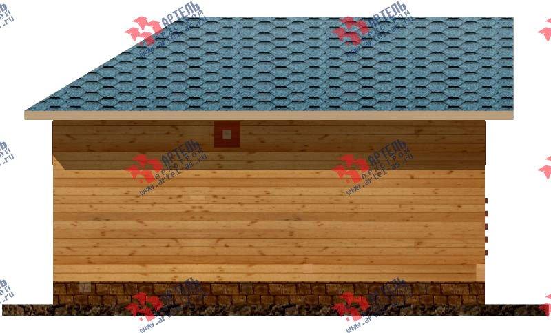 одноэтажный дом из профилированного бруса площадью до 100 кв. м., проект Вариант 4 фотография 1554