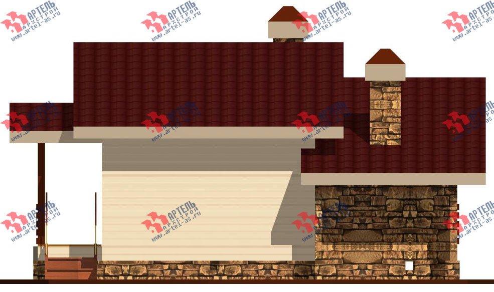 одноэтажный дом из профилированного бруса площадью до 100 кв. м., проект Вариант 5 фотография 1563