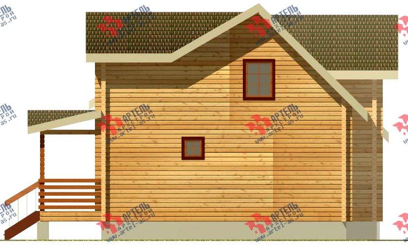 двухэтажный дом из профилированного бруса площадью от 150 до 200 кв. м., проект Вариант 9 О фотография 364
