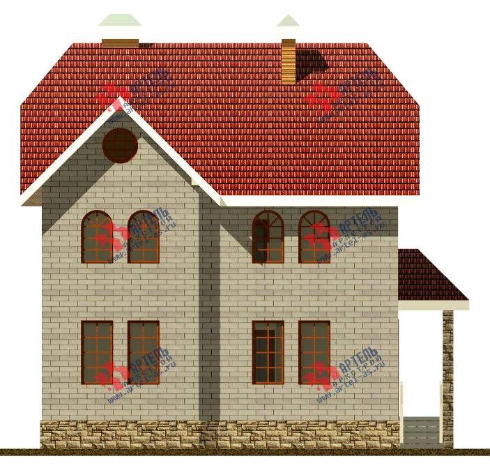 двухэтажный дом из камня площадью свыше 200 кв. м., проект Вариант 8 фотография 521