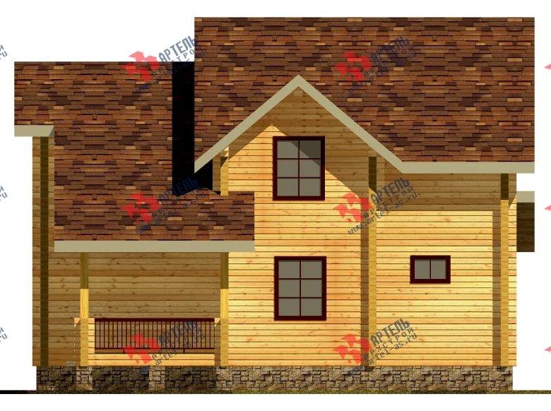 двухэтажный дом из профилированного бруса площадью свыше 200 кв. м. с  мансардой, проект Вариант 10.7 К фотография 113