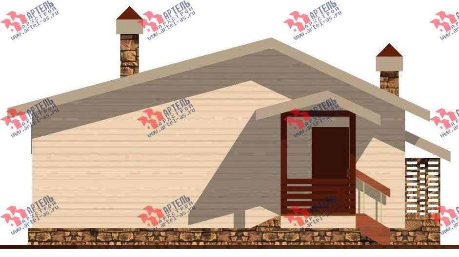 одноэтажный дом из профилированного бруса площадью до 100 кв. м., проект Вариант 5 фотография 1564