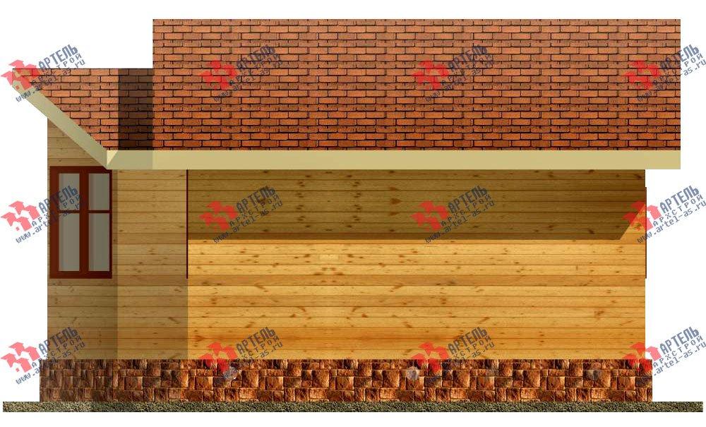 одноэтажный дом из профилированного бруса площадью до 100 кв. м., проект Вариант 2 фотография 1536