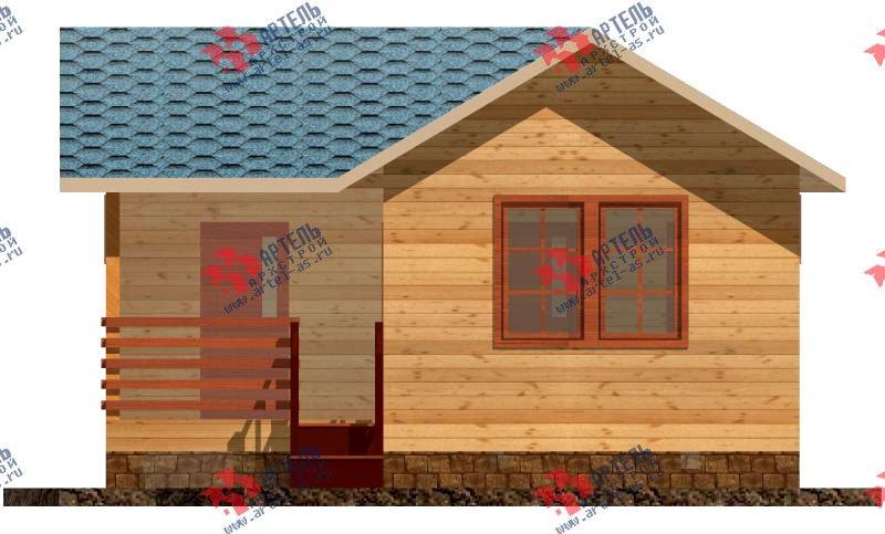 одноэтажный дом из профилированного бруса площадью до 100 кв. м., проект Вариант 4 фотография 1556