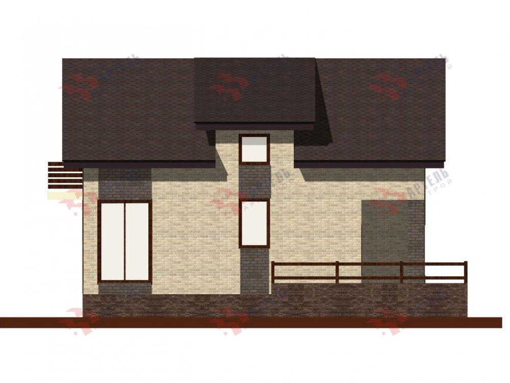 двухэтажный дом омбинированные дома площадью от 150 до 200 кв. м. с  балконом, проект Вариант 15 фотография 6438