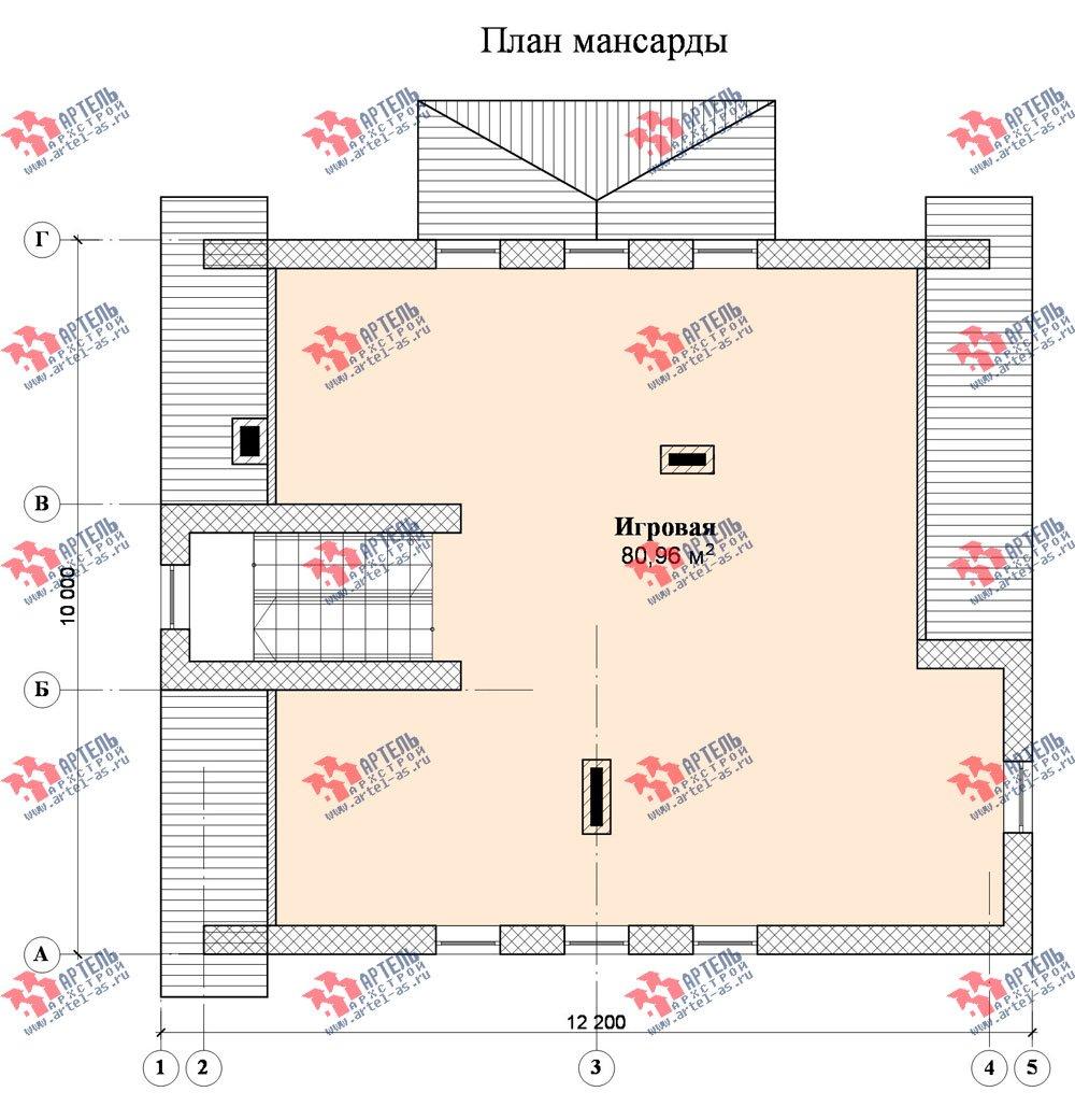 двухэтажный дом из камня площадью свыше 200 кв. м., проект Вариант 8 фотография 527
