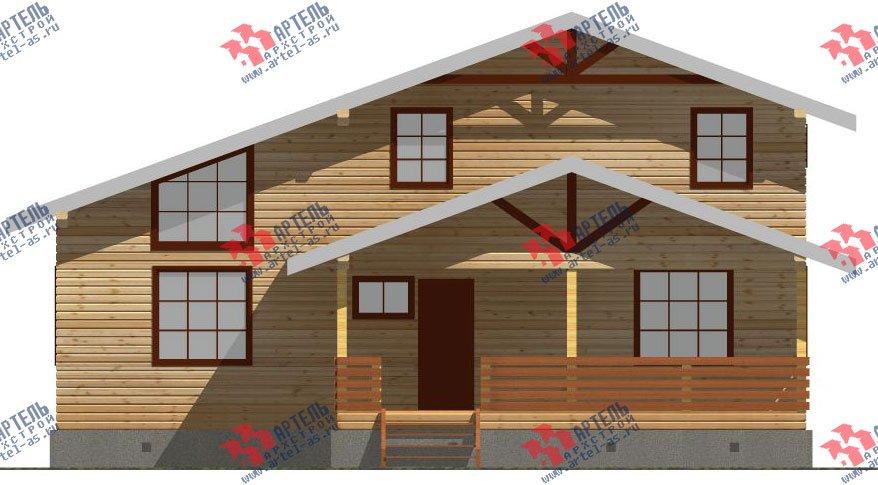 двухэтажный дом из бруса площадью свыше 200 кв. м. с  мансардой, террасой, проект Вариант 11 Л-1 фотография 2631