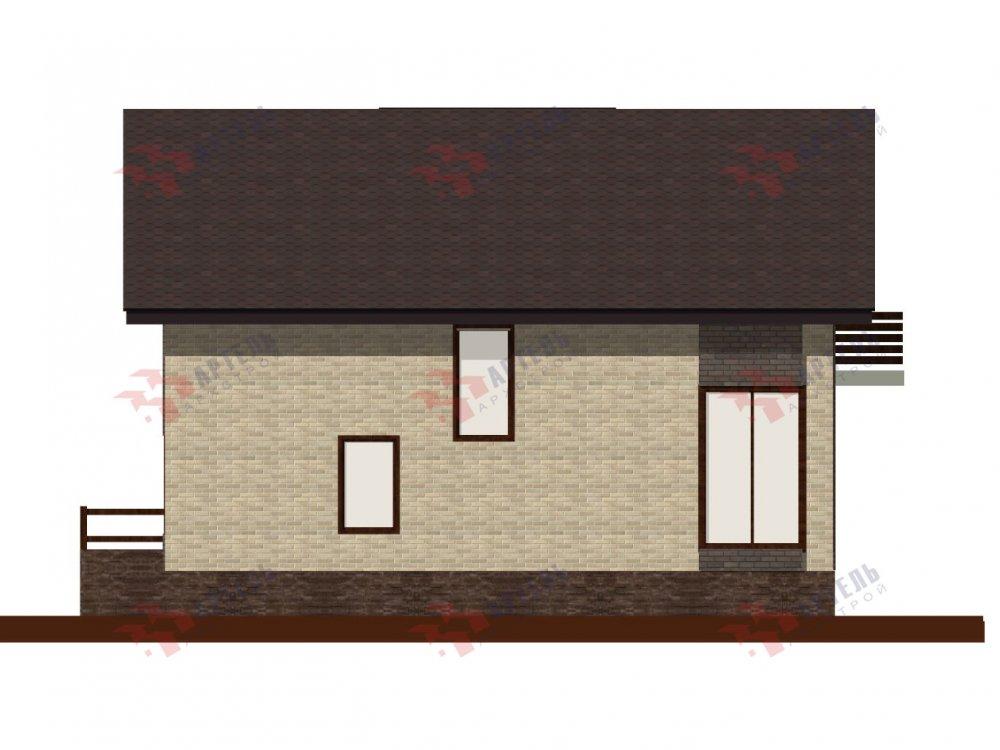 двухэтажный дом омбинированные дома площадью от 150 до 200 кв. м. с  балконом, проект Вариант 15 фотография 6436