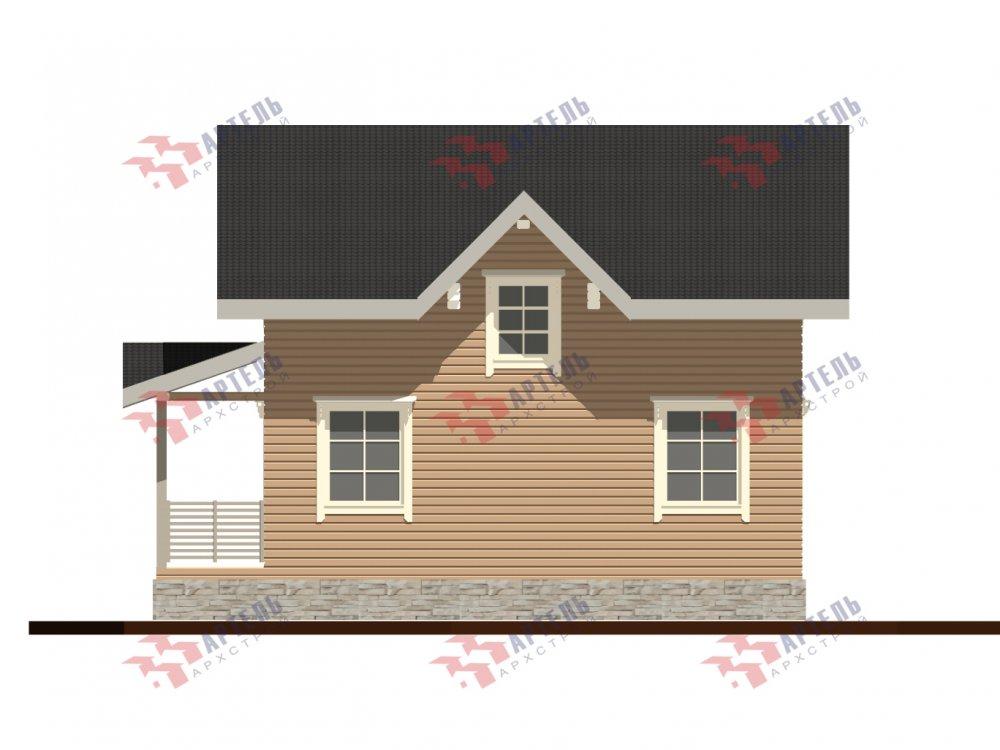 дом из профилированного бруса с  мансардой, проект Вариант 9.6М фотография 6534
