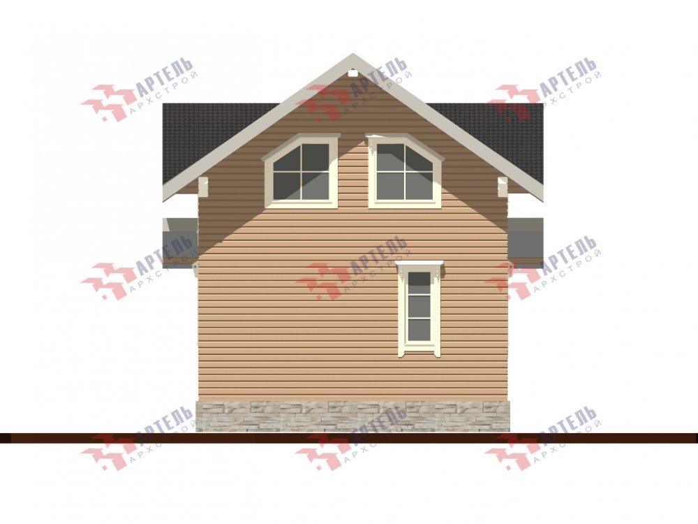 дом из профилированного бруса с  мансардой, проект Вариант 9.6М фотография 6536